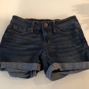 Girls Aeropostale jeans shorts